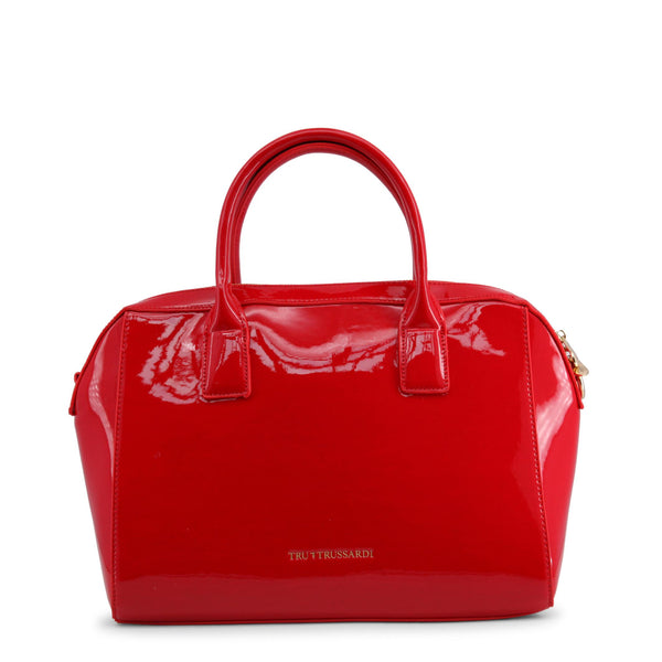 Trussardi Red Leather Handbag