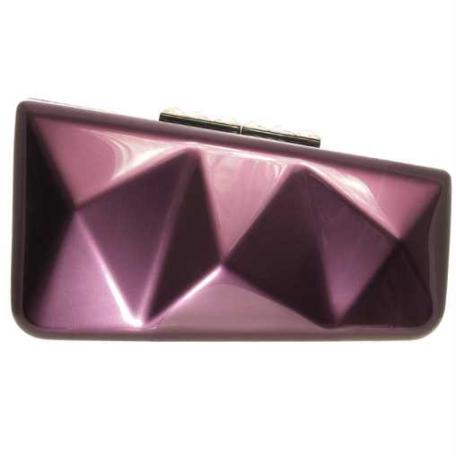 Purple Lining Clutch Bag