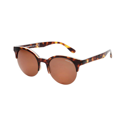 Made In Italia Brown Nylon Sunglass