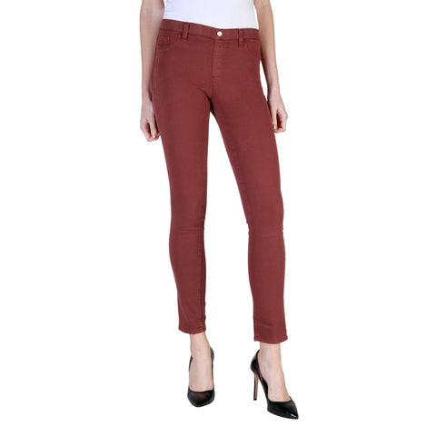 Skinny Jeans - Women's Trendy Carrera Jeans Brown Skinny Waistband