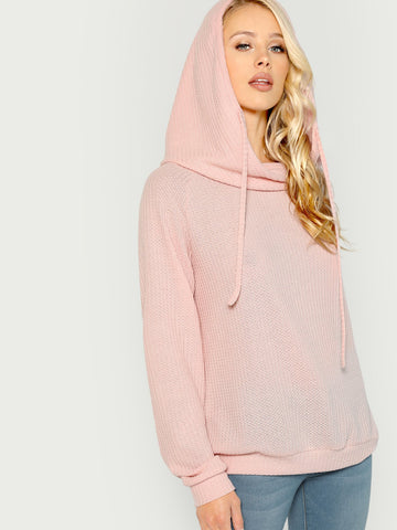 Shirts & Jersey Shirts - Women's Trendy Grey Solid Hooded Sweat Shirts