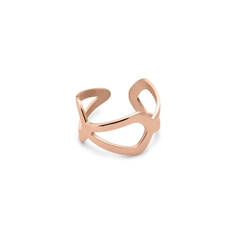 Rose Gold Sterling Silver Ring
