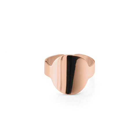 Rose Gold Sterling Silver Star Ring