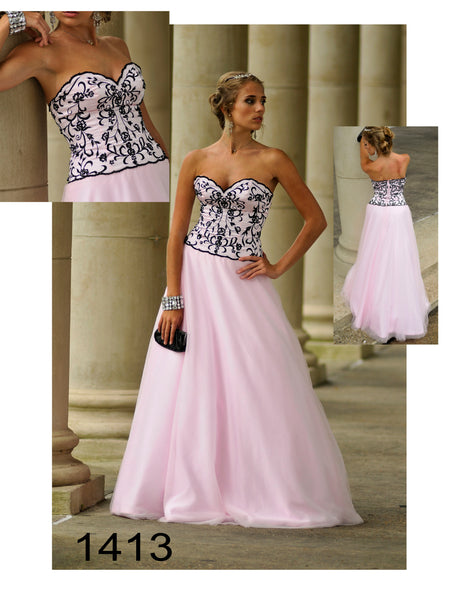 Pink Ball gown- Party Dress