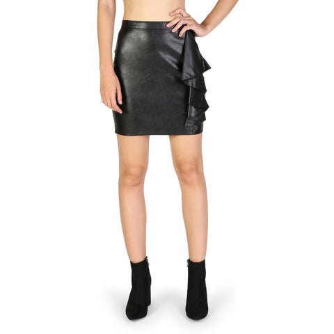 Asymmetric & Draped Skirts - Women's Trendy Guess Black Skirt