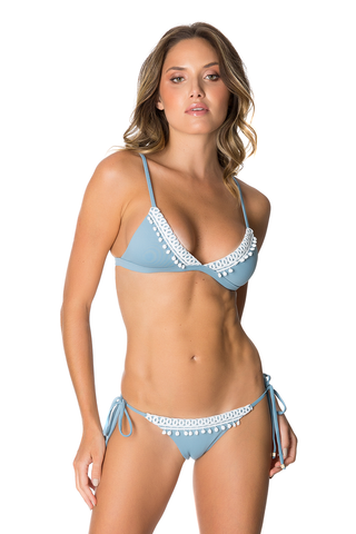 Suits - Women's Trendy Lily Bottom In Dusty Blue