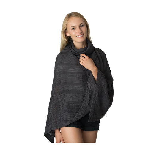 Black Cowl Neck Short Sweater