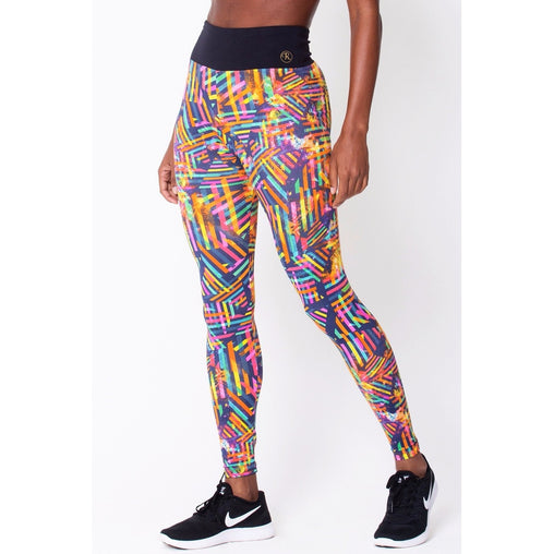 Waistband Geometric Legging