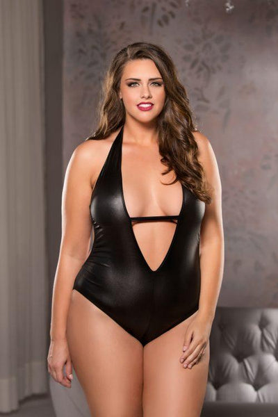 Sleek Plunge Teddy
