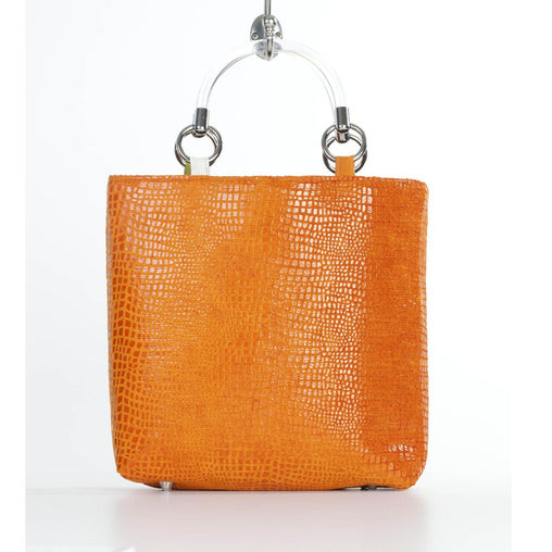 Boa Orange Small Tote - Fashiontage