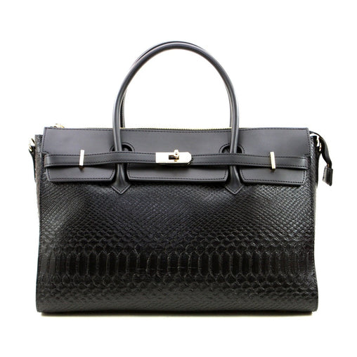 Black Lining Satchel