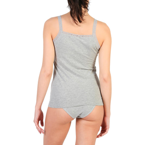 Vests & Tank Tops - Women's Trendy Pierre Cardin Underwear Camel Sleeveless Polyester Tank Top