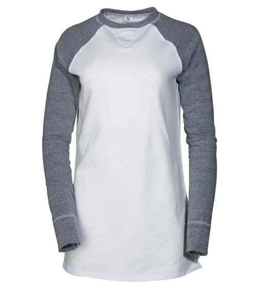 Grey Crew Neck Long Sleeve Sweat Shirt