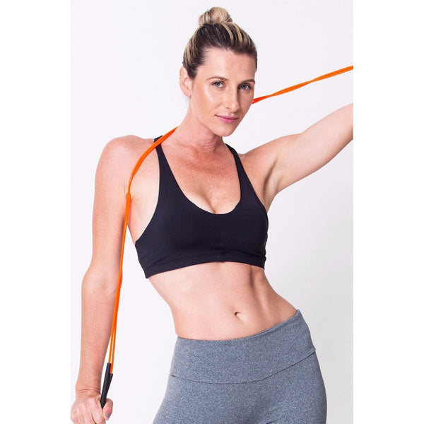 Black Skinny Sports Bra