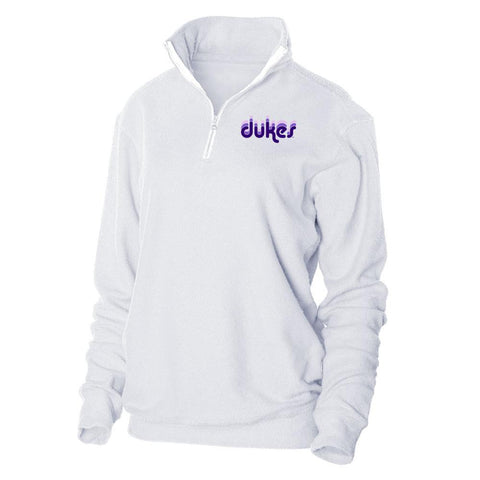 Shirts & Jersey Shirts - Women's Trendy White Official NCAA James Madison Dukes