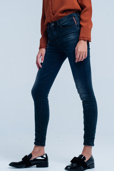 Black Skinny Highwaist Jeans