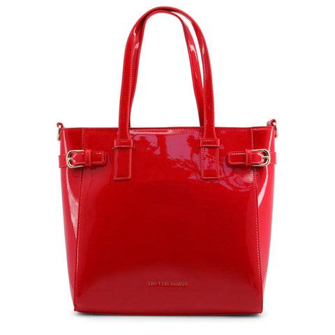 Trussardi Red Shoulder Bag