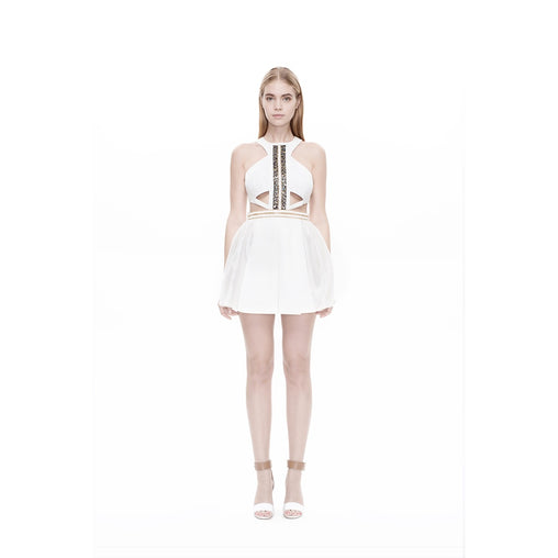White Ballerina A-line Dress