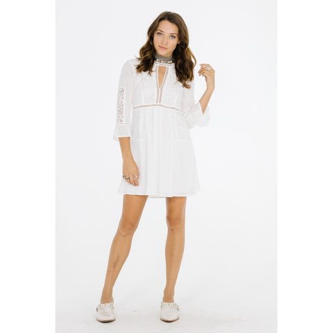 White Short Casual Dress