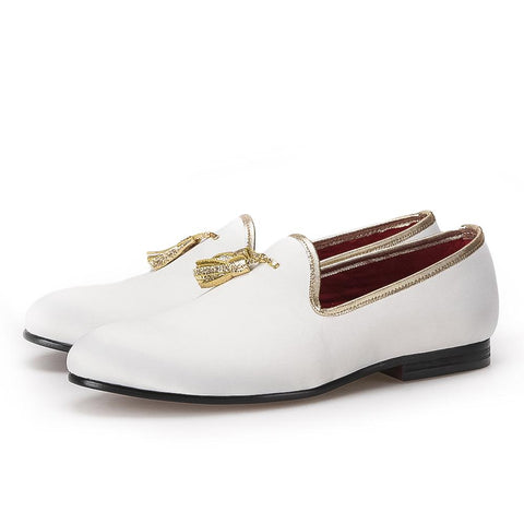 Shoes - Women's Trendy Beige Slipon Round Toe Loafers