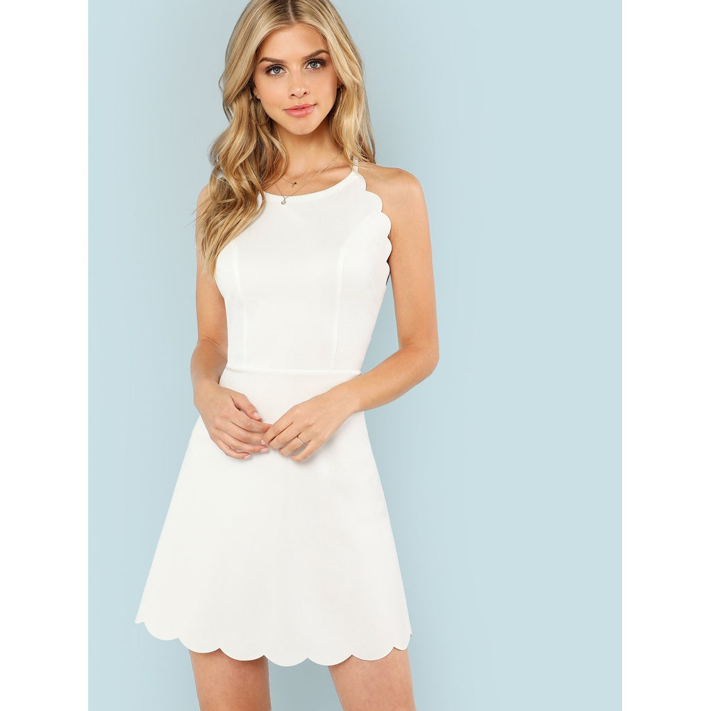 Sleeveless Fit and Flare Dress