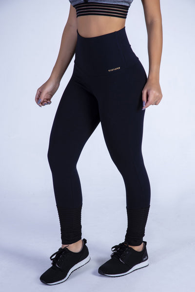 Black High Rise Legging