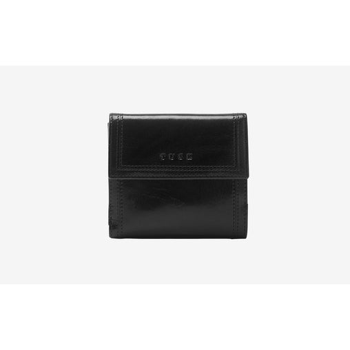 Black Leather Indexer Wallet