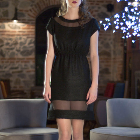 Black Sporty Party Dress