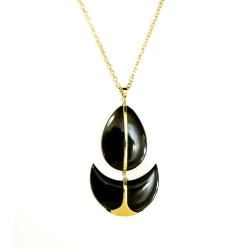 Gold Chain Drop Necklace