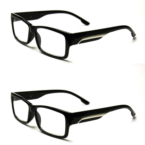 Pack With Metal Striped Temples