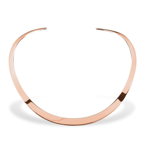 Rose Gold Sterling Silver Necklace