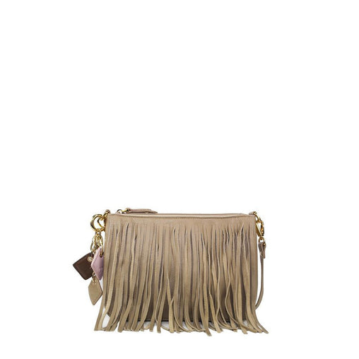 Gold Nylon Handbag