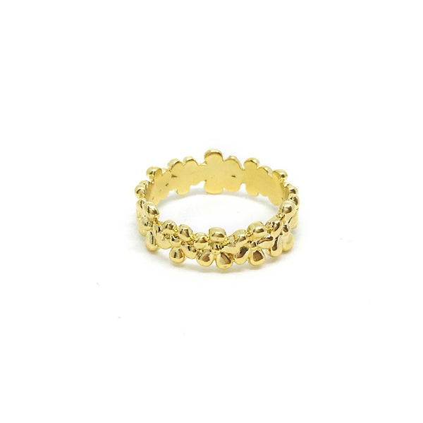 Gold Round Ring