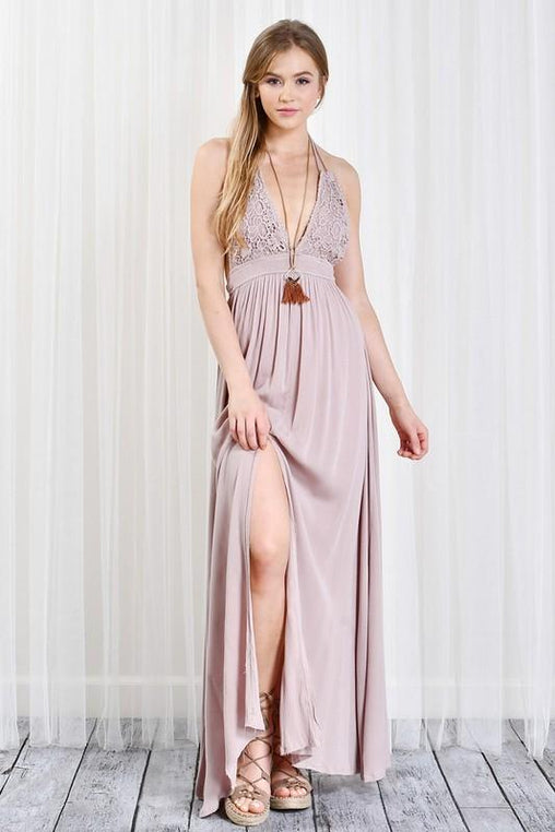 Twilight Terrace Maxi Dress