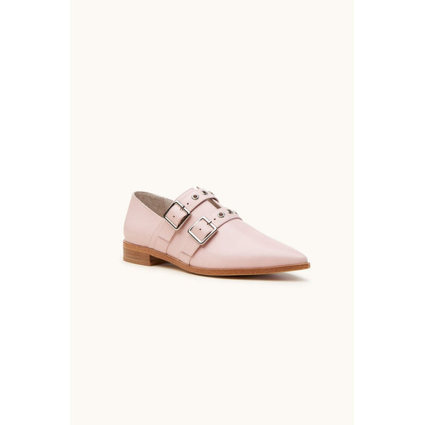 Pink Straps Flats