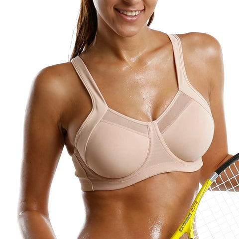 Activewear Tops - Women's Trendy Cushioned Sports Bra