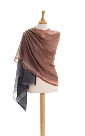 Scarves - Women's Trendy Color Squares Camellia Pure Wool Scarf