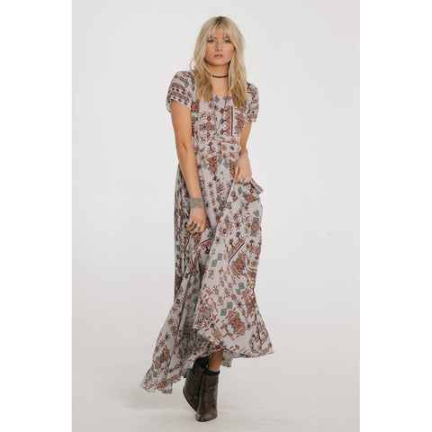 Day Dresses - Women's Trendy Native Dreams Maxi