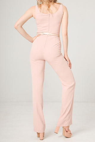Jumpsuits - Women's Trendy Fontana 2.0 Pink Jumpsuit