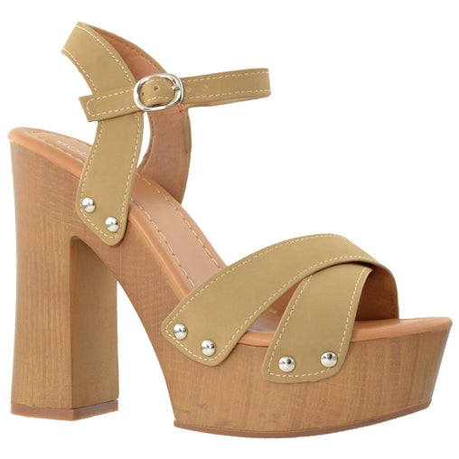Taupe High Heel - Fashiontage