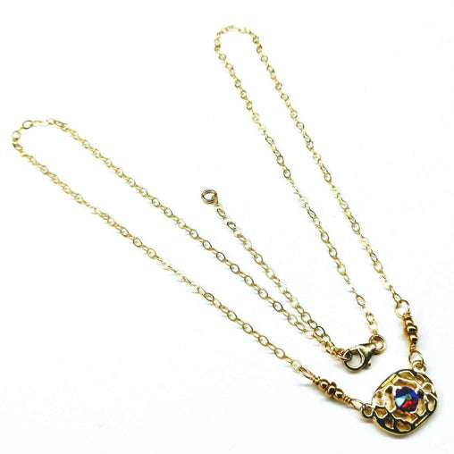 14 K Gold Filled Adjustable Necklace