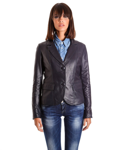 Handmade Soft Leather Blazer