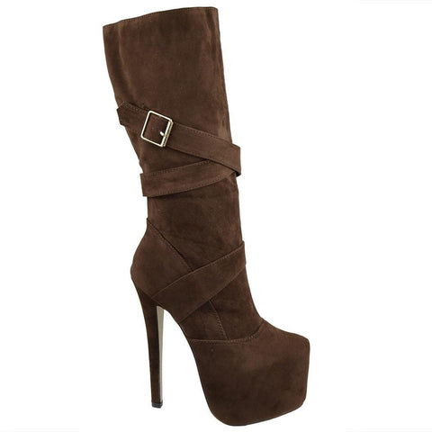Brown High Heel - Fashiontage
