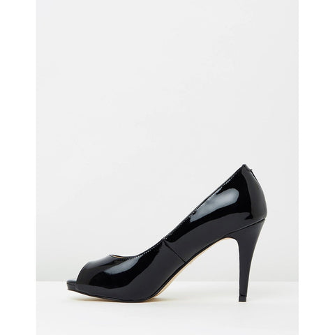 Pumps - Women's Trendy Black Leather Pumps
