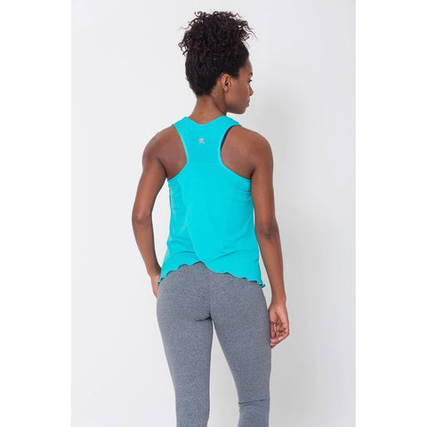 Activewear Tops - Women's Trendy Atoll Crossover Back Tank