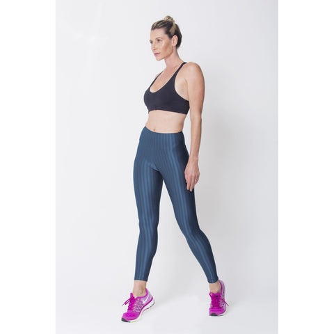 Ups - Women's Trendy Navy 3d Disco Leggings