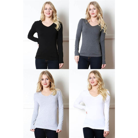 Hooded Long Sleeve Top - Fashiontage