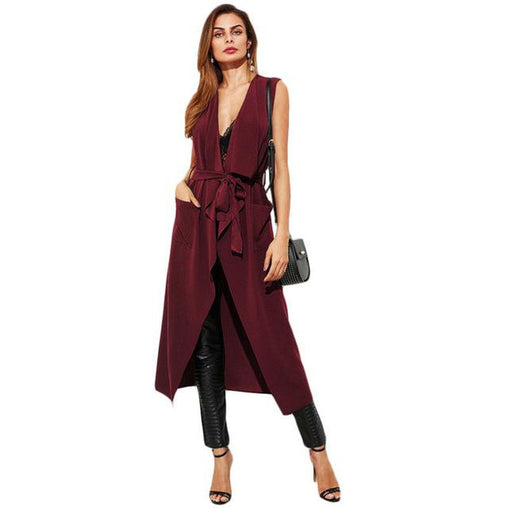 Belt Long Outer Vest