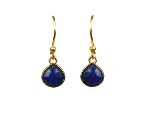 Earrings - Women's Trendy Gold Sterling Silver Drop Earring