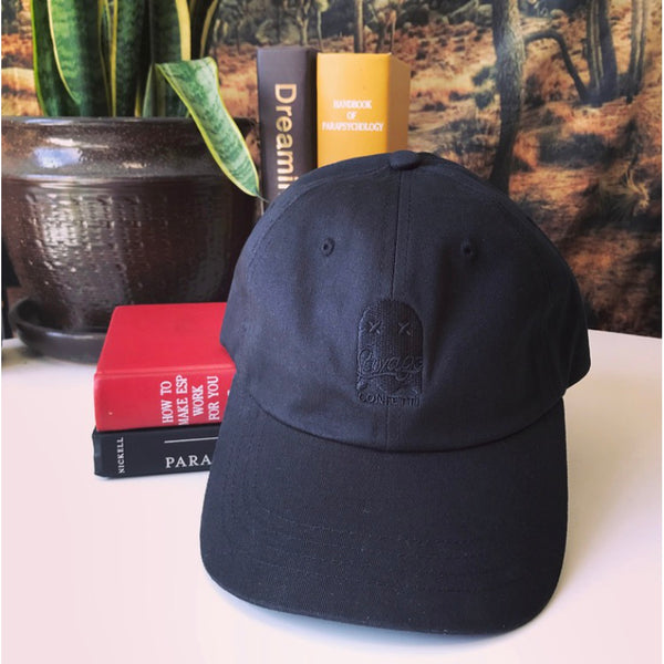 Black Cotton Hats